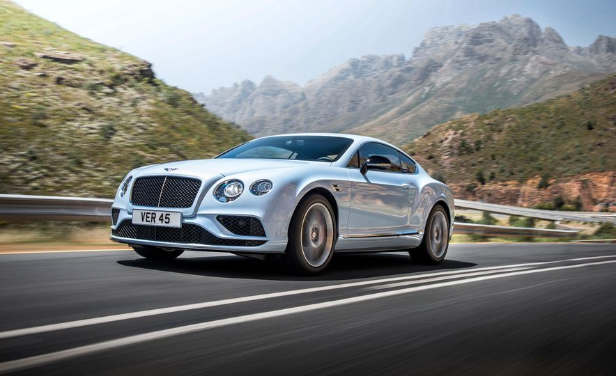 2016 Bentley Continental GT Speed - Slide 19
