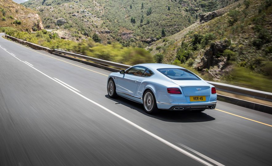 2016 Bentley Continental GT Speed - Slide 21