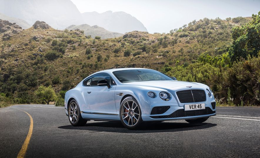 2016 Bentley Continental GT Speed - Slide 22