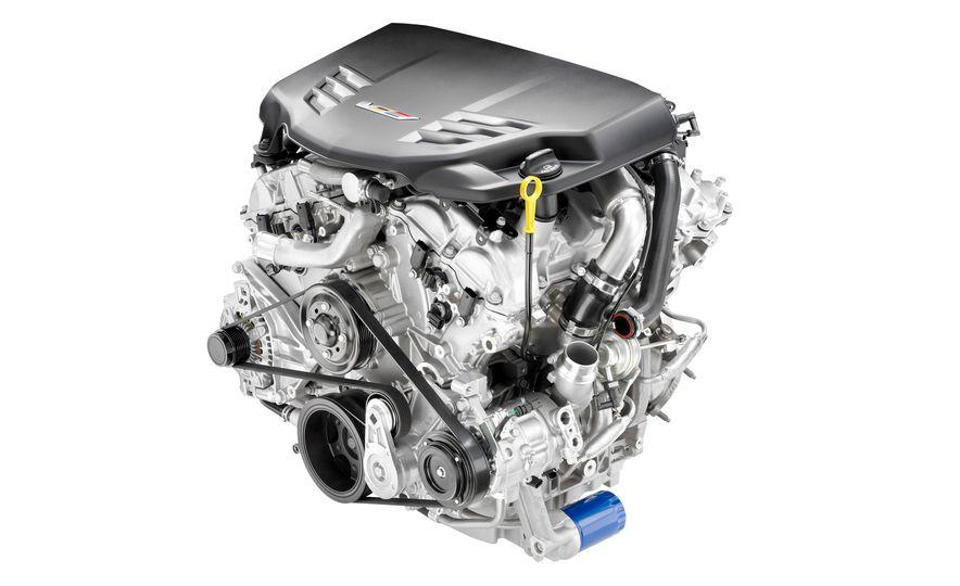 2016 Cadillac ATS-V coupe - Slide 31