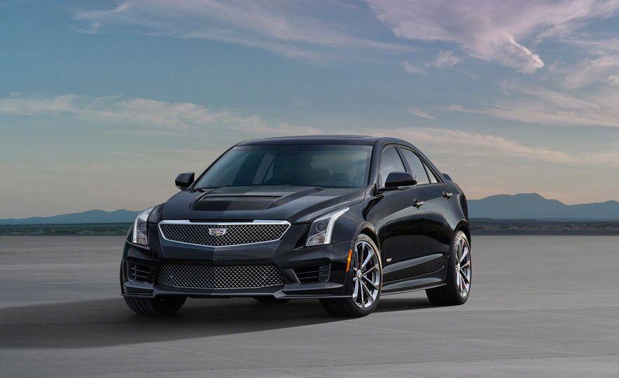 2016 Cadillac ATS-V coupe - Slide 23