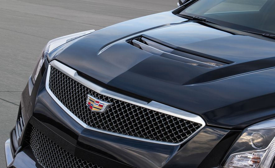 2016 Cadillac ATS-V coupe - Slide 27