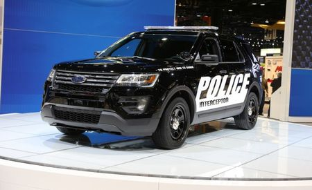 The Redesigned Ford Police Interceptor Utility Is Here to Haul Stuff—TO JAIL