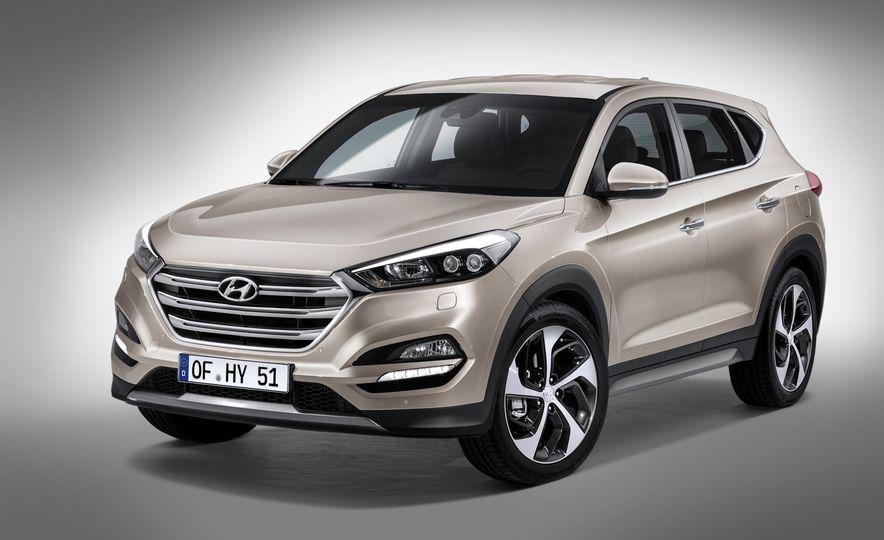 2016 Hyundai Tucson - Slide 1