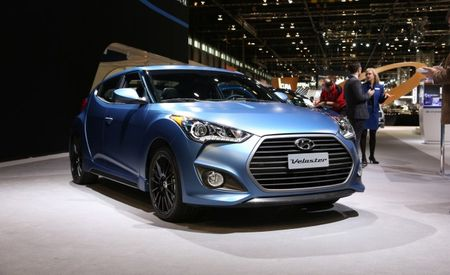 Sir Walter Rally: Hyundai Pulls the Sheet from 2016 Veloster Rally Edition
