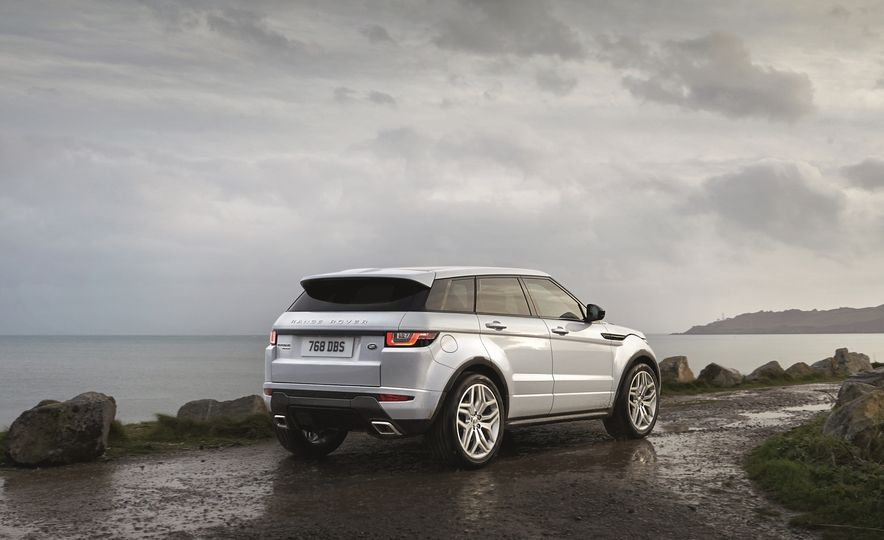 2016 Land Rover Range Rover Evoque - Slide 6