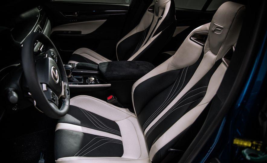 2016 Lexus GS F - Slide 17