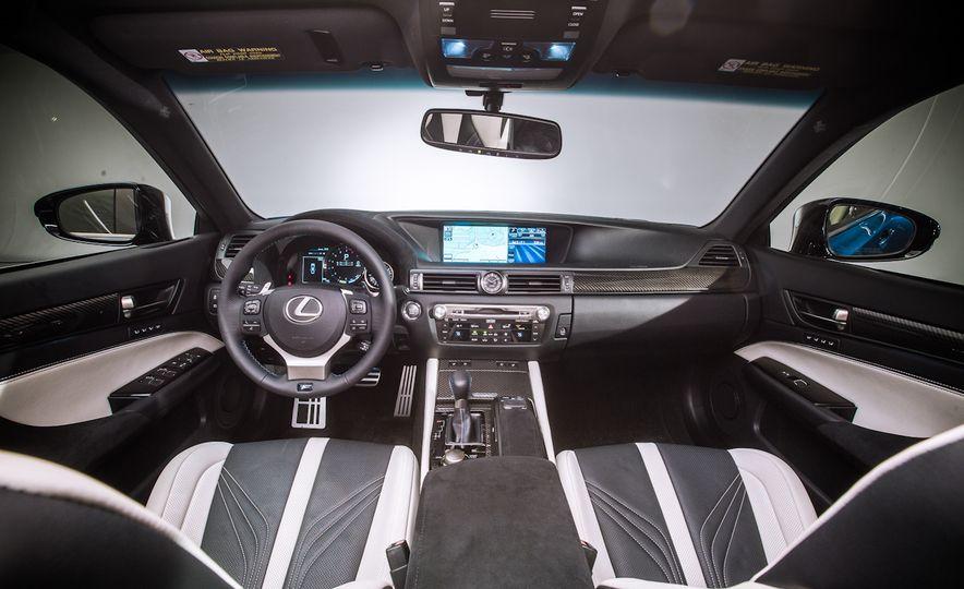2016 Lexus GS F - Slide 21