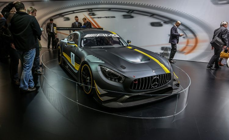 Mercedes-AMG GT3 Race Car Revealed: Brutality and Bloodshed for All