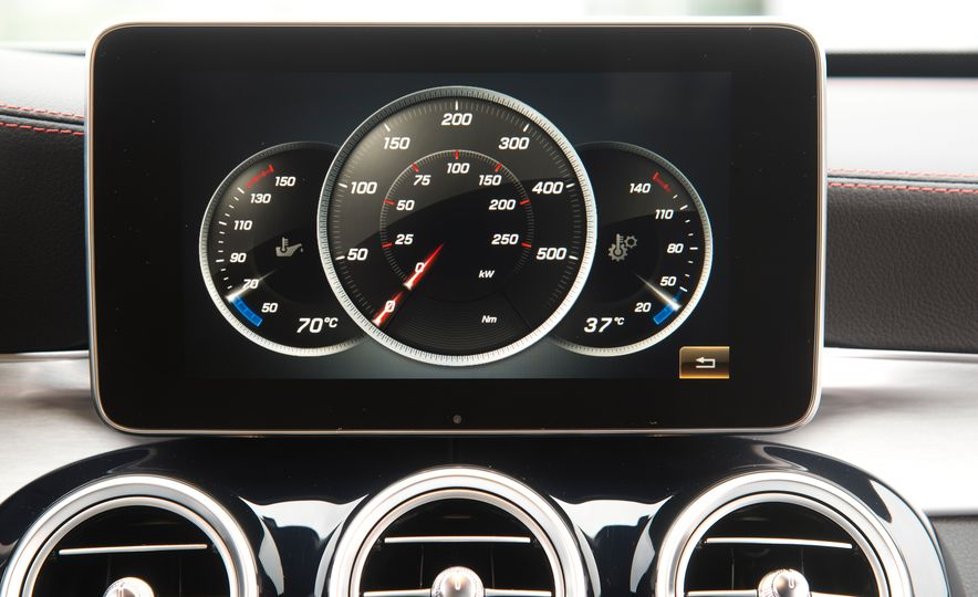 2016 Mercedes-Benz C450 AMG 4MATIC - Slide 59