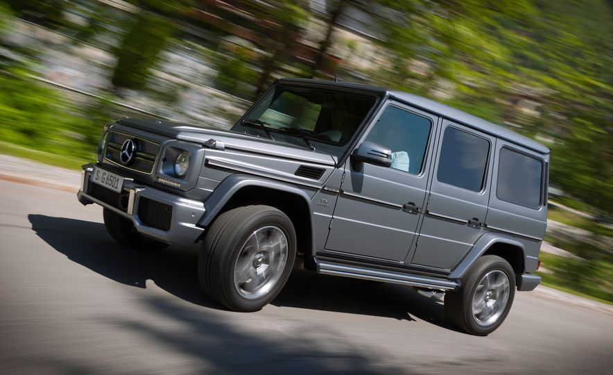 2016 Mercedes-Benz G65 AMG - Slide 1