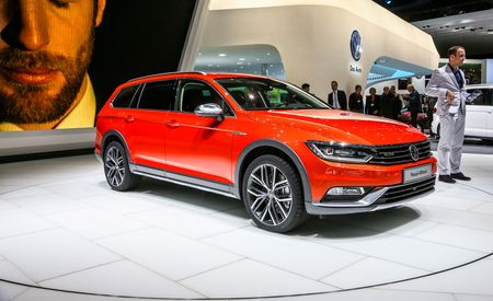 VW Debuts New Passat Alltrack Wagon, Naturally We Want One