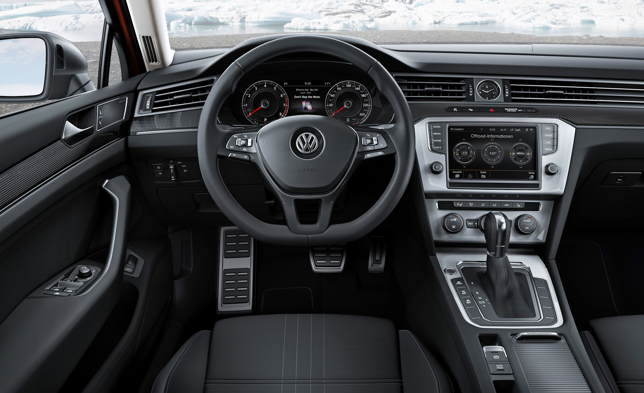 Vw Debuts New Pat Alltrack Wagon Naturally We Want One News Car And Driver