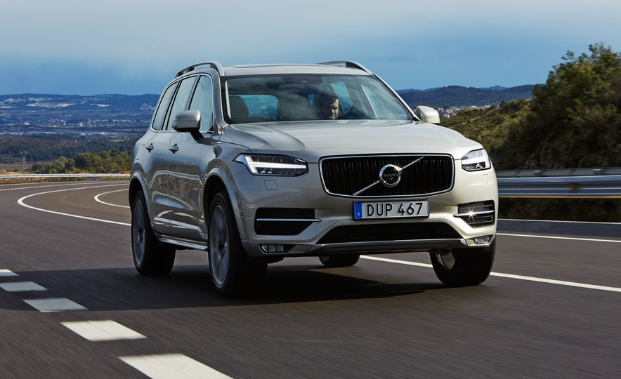 2016 Volvo XC90 D5 (Euro-spec) and T6 - Slide 85