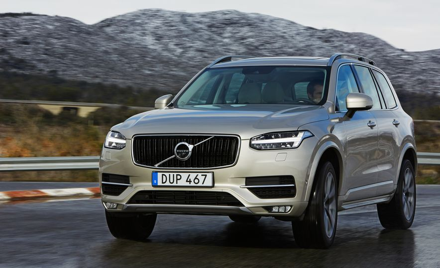 2016 Volvo XC90 D5 (Euro-spec) and T6 - Slide 87