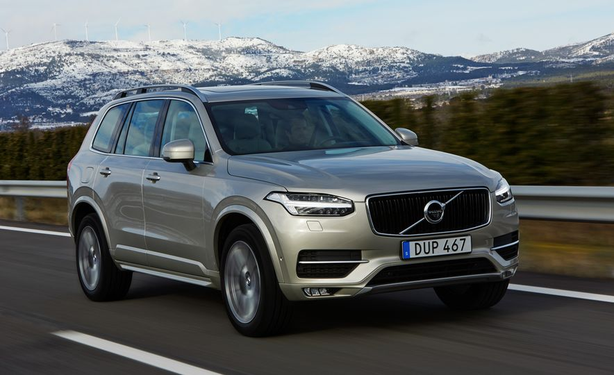 2016 Volvo XC90 D5 (Euro-spec) and T6 - Slide 89