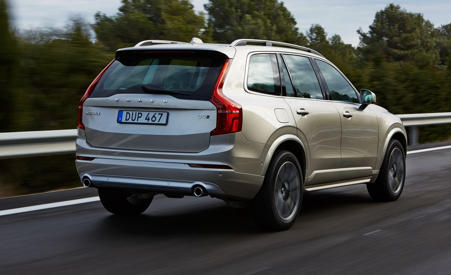 2016 Volvo XC90 D5 (Euro-spec) and T6 - Slide 90