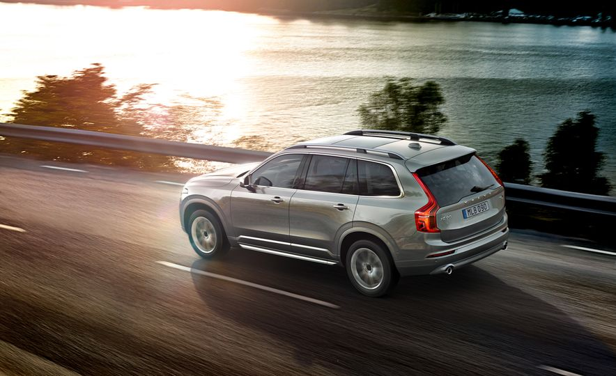 2016 Volvo XC90 D5 (Euro-spec) and T6 - Slide 91