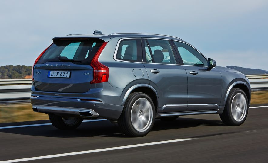 2016 Volvo XC90 D5 (Euro-spec) and T6 - Slide 5