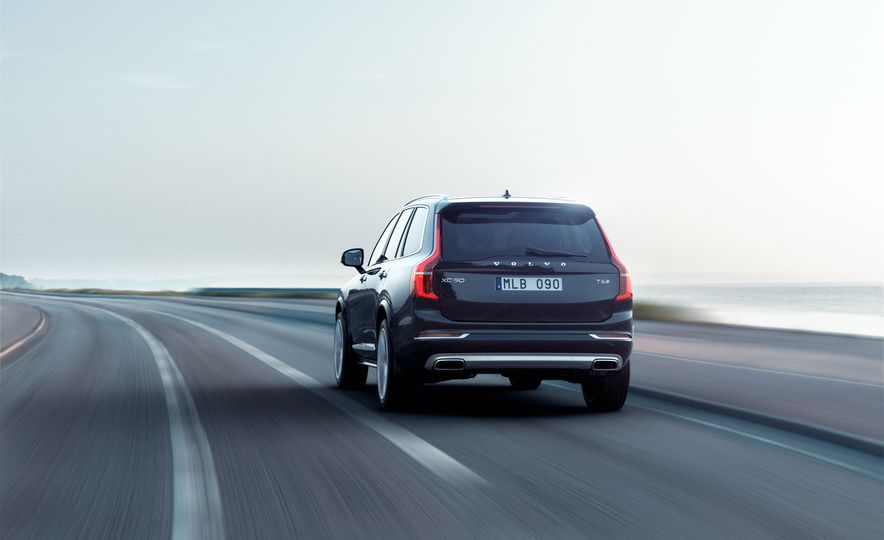 2016 Volvo XC90 D5 (Euro-spec) and T6 - Slide 8