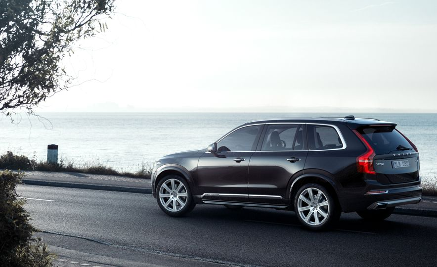 2016 Volvo XC90 D5 (Euro-spec) and T6 - Slide 10