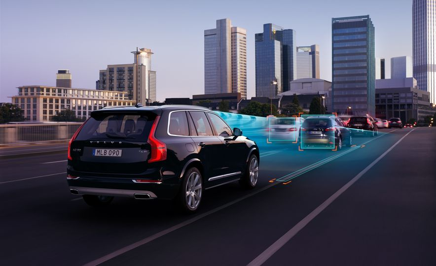 2016 Volvo XC90 D5 (Euro-spec) and T6 - Slide 22