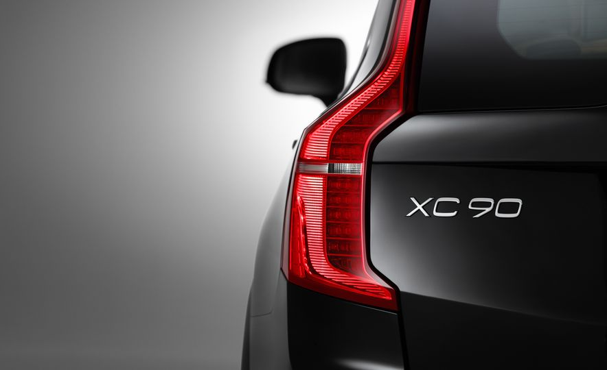 2016 Volvo XC90 D5 (Euro-spec) and T6 - Slide 33
