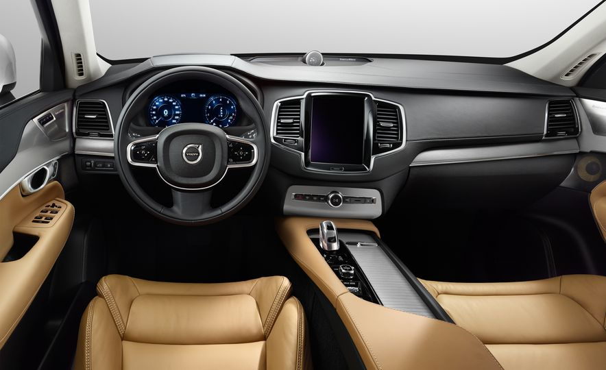 2016 Volvo XC90 D5 (Euro-spec) and T6 - Slide 64