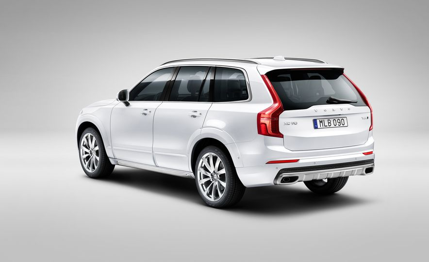 2016 Volvo XC90 D5 (Euro-spec) and T6 - Slide 81