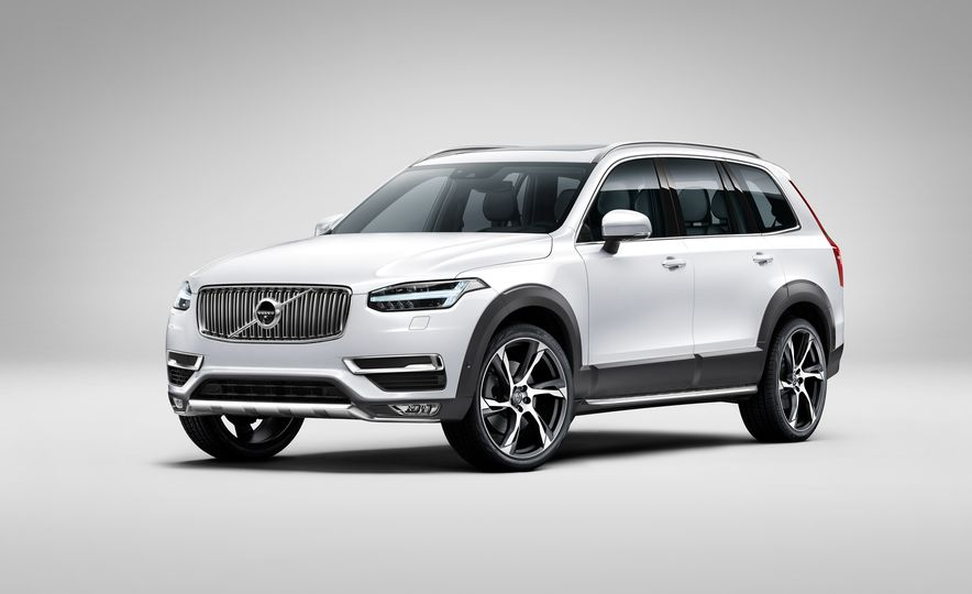 2016 Volvo XC90 D5 (Euro-spec) and T6 - Slide 82