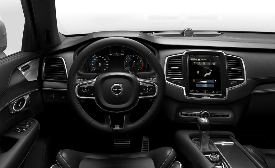 2016 Volvo XC90 T6 R-Design - Slide 17