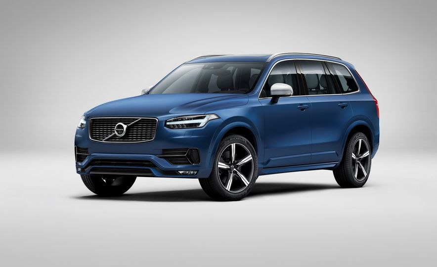 2016 Volvo XC90 D5 (Euro-spec) and T6 - Slide 92