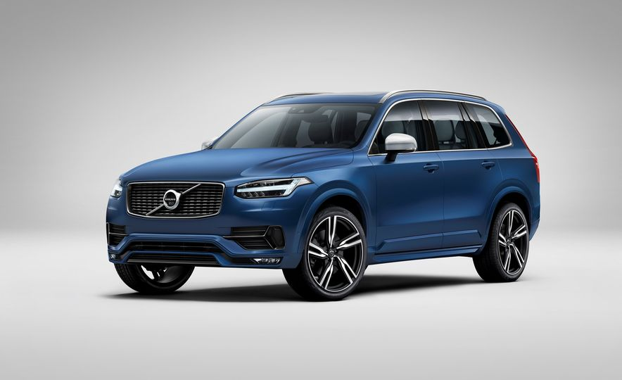 2016 Volvo XC90 D5 (Euro-spec) and T6 - Slide 93