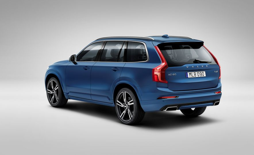 2016 Volvo XC90 D5 (Euro-spec) and T6 - Slide 97