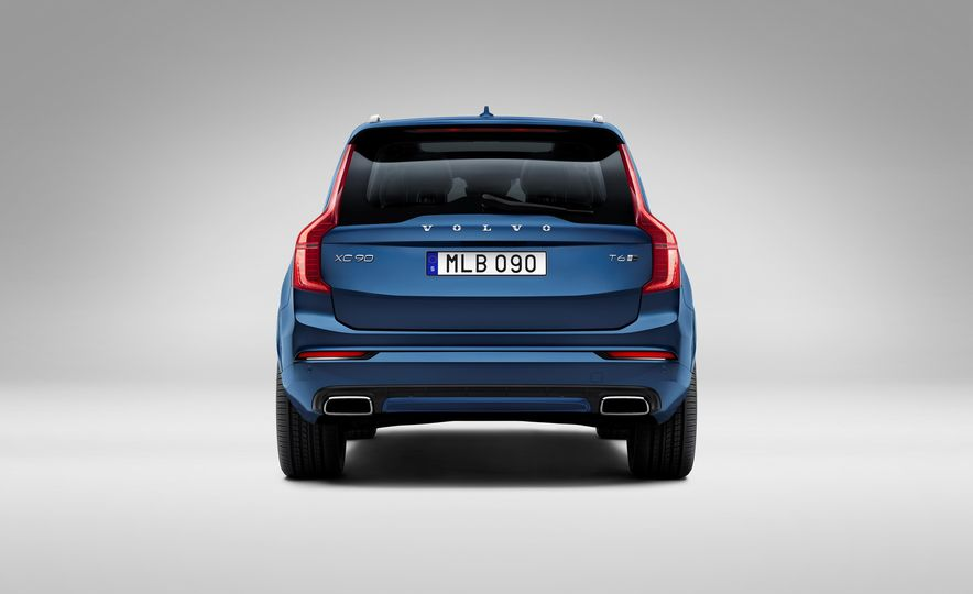 2016 Volvo XC90 D5 (Euro-spec) and T6 - Slide 99