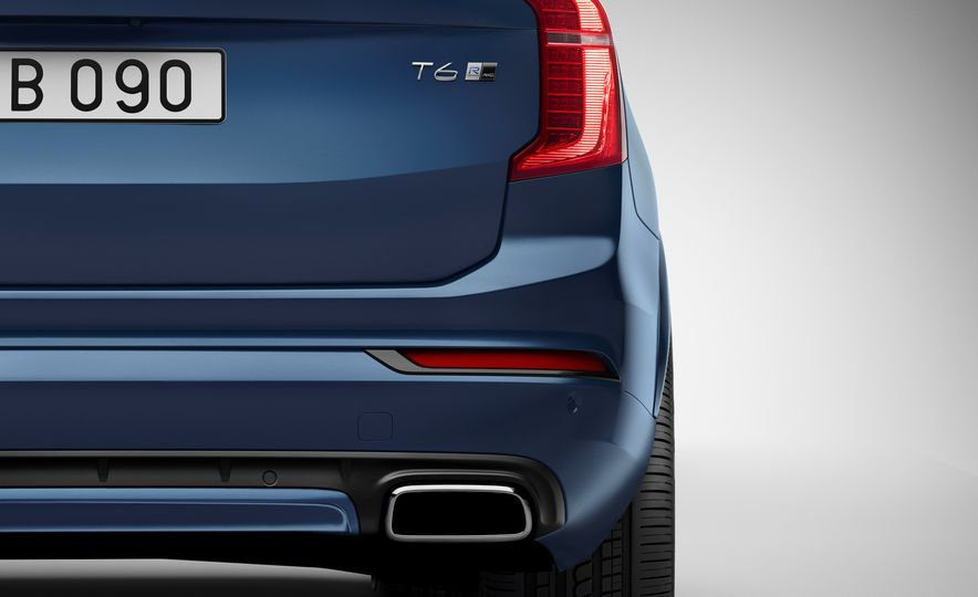 2016 Volvo XC90 D5 (Euro-spec) and T6 - Slide 104
