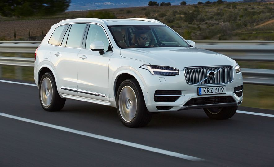 2016 Volvo XC90 D5 (Euro-spec) and T6 - Slide 109