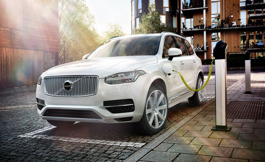 2016 Volvo XC90 D5 (Euro-spec) and T6 - Slide 113
