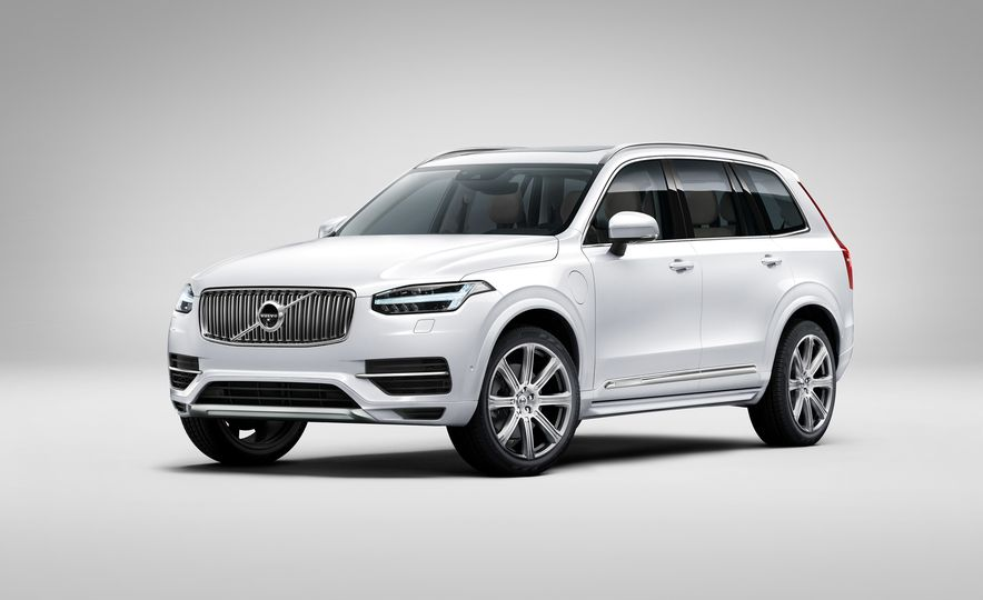2016 Volvo XC90 D5 (Euro-spec) and T6 - Slide 114