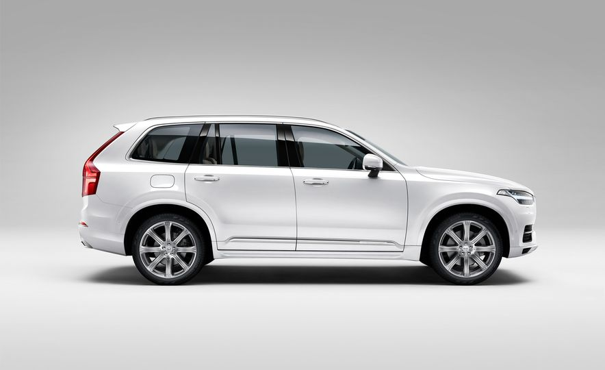 2016 Volvo XC90 D5 (Euro-spec) and T6 - Slide 116