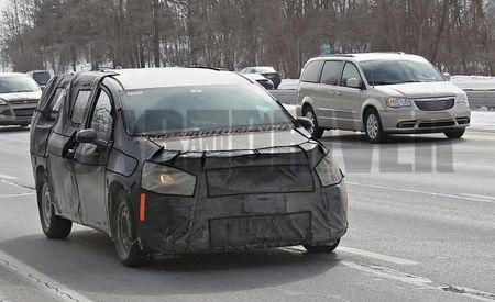 Chrysler Readies Next-Generation Town & Country Minivan for Detroit Debut