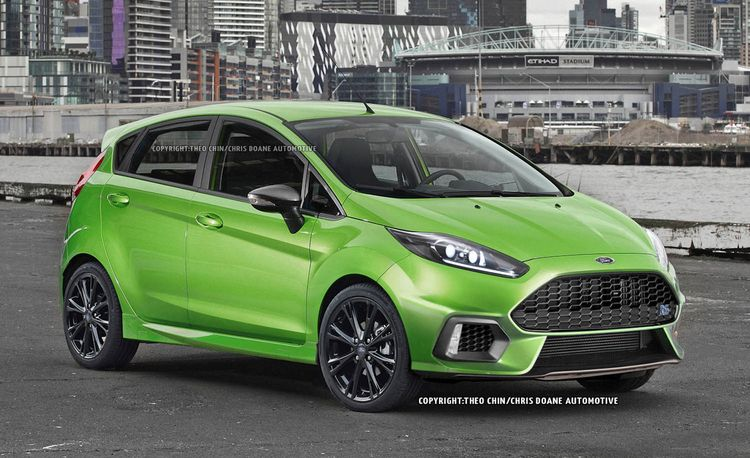 2017 Ford Fiesta RS Rendered: A Mighty Mite that Might Just Happen