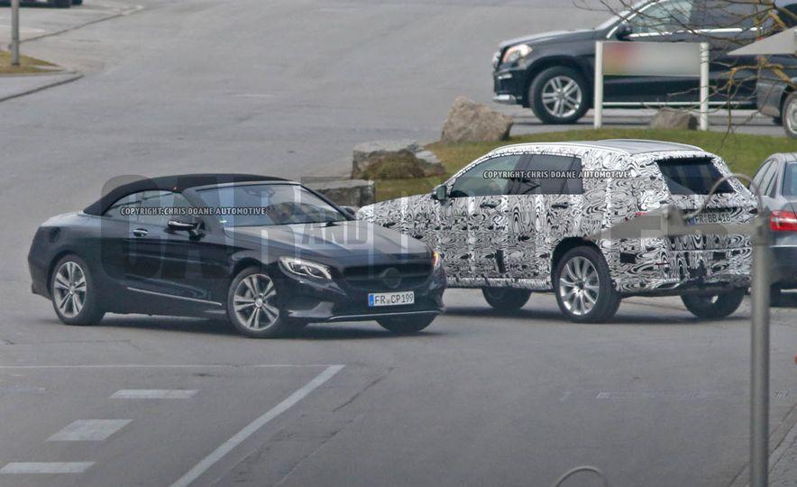 2017 Mercedes-Benz S-class convertible (spy photos) - Slide 1