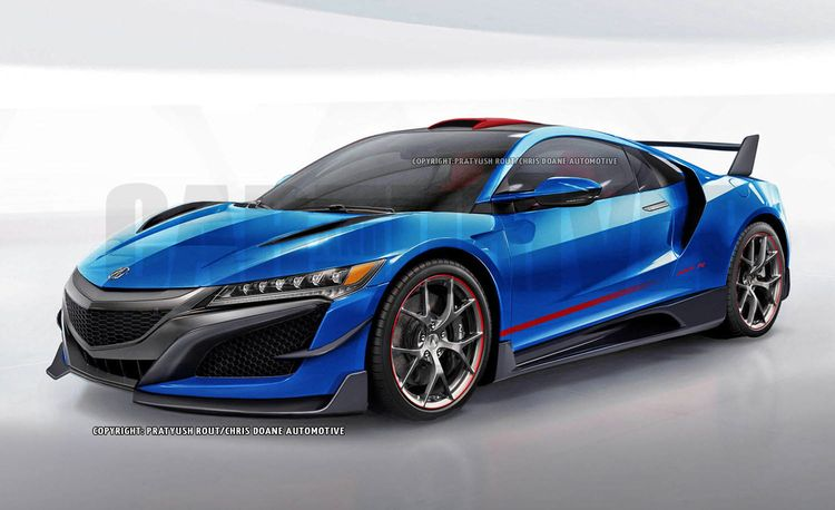 Dangerous Type: What a New Acura NSX Type R Might Look Like