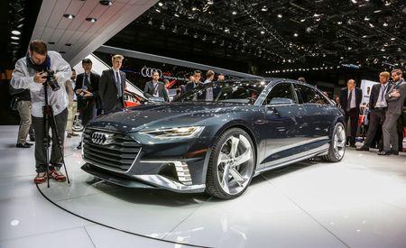 Audi Prologue Avant Concept: A Coupe Turns Into a Station Wagon – Auto Shows