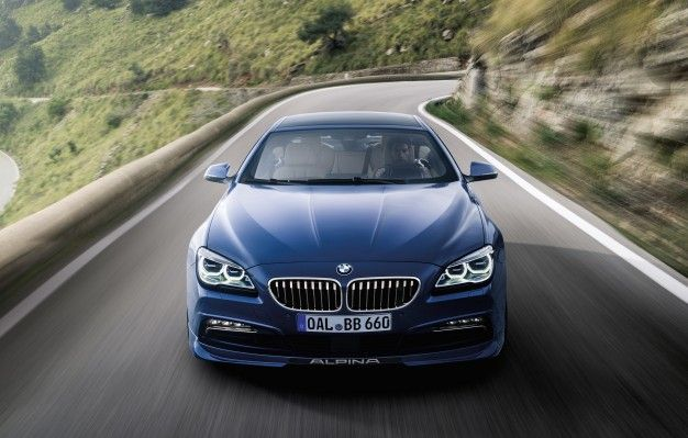 BMW Alpina B Gran Coupe More HP And Dynamism News Car And - Bmw alpina b6 biturbo price