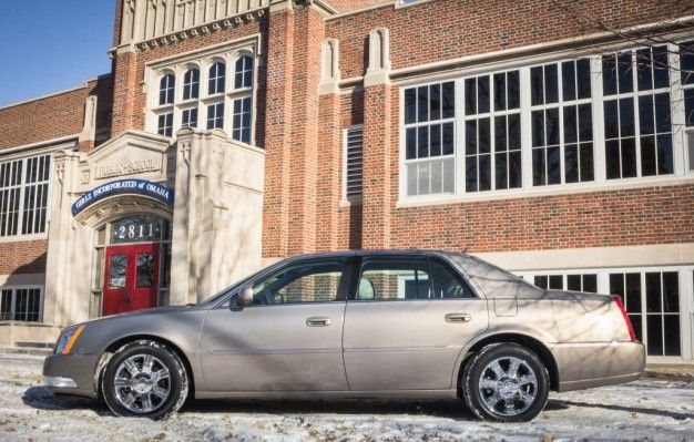 Warren buffetts autographed cadillac dts sells for six figures cadillac dts warren buffett auction omaha sciox Gallery