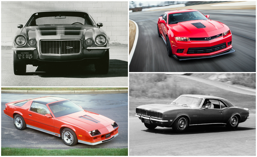 Five for Five: Five GM Designers Weigh In on Five Generations of Camaro Design - Slide 1