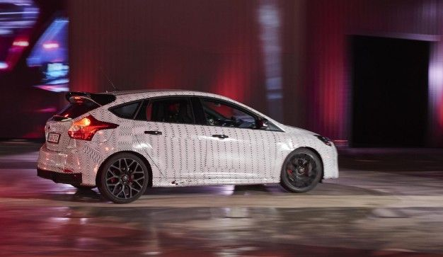 Watch Ken Block Flog the Hell Out of the 2017 Focus RS in a Ford Factory