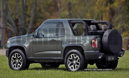 GMC Considering New Model—and It Could Be a Wrangler Fighter [w/ Renderings]